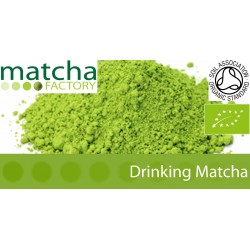 Drinking Matcha